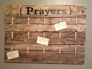 I like this idea people can write one or take to pray