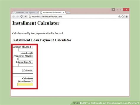 3 Ways To Calculate An Installment Loan Payment
