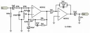 Mic Preamp Circuit For Shure