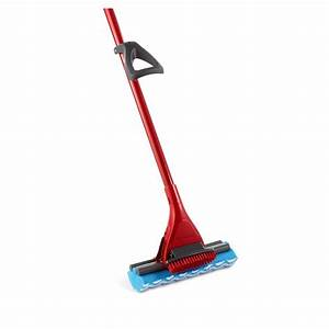 O-Cedar Microfiber Power Scrub Roller Mop-152236 - The