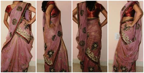 Tight Saree Draping - 8 different ways to drape saree