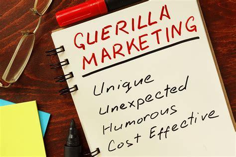 guerrilla marketing ideas   pros