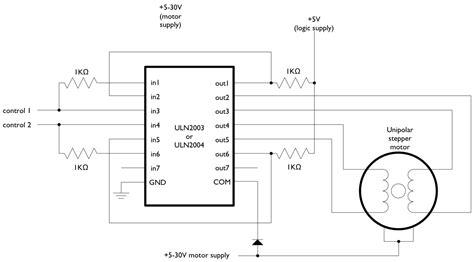 Arduino Stepperunipolarcircuit