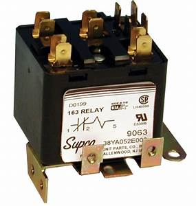 Supco Potential Relay Wiring Diagram