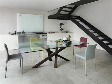 table cuisine contemporaine design table contemporaine en verre 24 idées de déco design