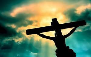 Jesus Christ On The Cross wallpaper