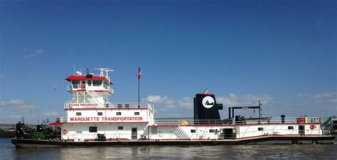 Tow Boat Company by Gulf Island Delivers Third 10 000 Hp Linehaul Towboat To