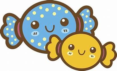 Kawaii Candy Clipart Happy Dessert Pub Cliparts