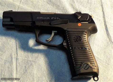 ruger p mm pistol ambidextrous safety double action