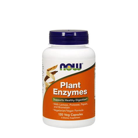 Plant Enzymes (120 kapsulas) - FitFactory