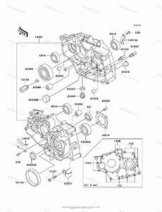 Kawasaki Atv 2006 Oem Parts Diagram For Crankcase