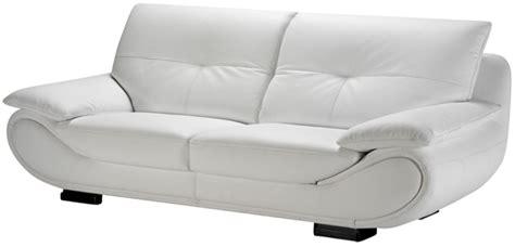 univers du cuir canape canape maison du monde 6 canap233 cuir blanc 6