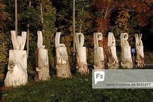 Tierpark Bad Mergentheim : bad mergentheim baden w rttemberg deutschland europa gro e holzbuchstaben am eingang ~ Watch28wear.com Haus und Dekorationen