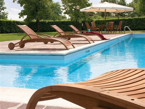 beautiful terrace and poolside furniture sets home