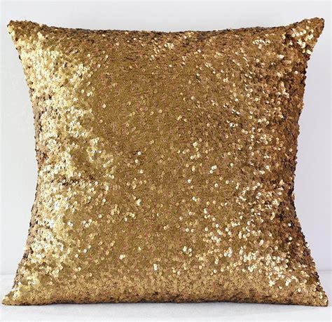 gold sequin pillow gold sequin taffeta pillow n 252 age designs