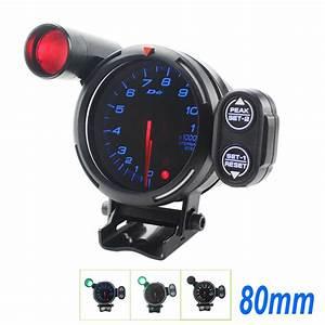 Defi Piece Auto : 80mm 12v universal 1 8 cylinders auto car defi style tachometer rpm auto gauge stepper motor bf ~ Medecine-chirurgie-esthetiques.com Avis de Voitures
