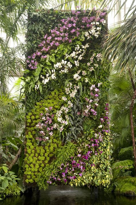 Blanc Vertical Garden by In The Air Orchidelirium Blanc Vertical Garden