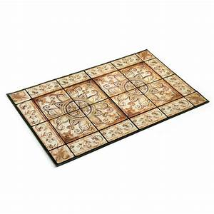 tapis dentree mosaique acheter decoration ameublement With tapis d entrée moderne