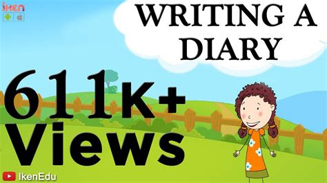 learn english writing writing  diary youtube