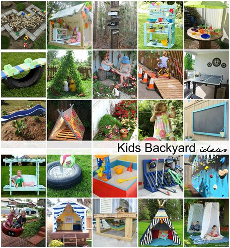 diy backyard ideas  kids  idea room