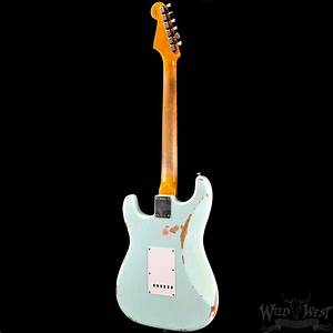 Fender 1960 Stratocaster Relic Surf Green