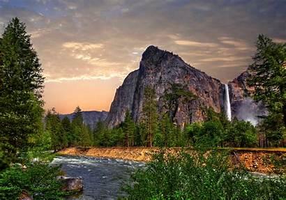 Forest Yosemite 8k Resolution 4k 5k Waterfall