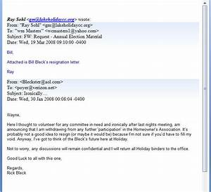 Resignation Letter Format Perfect 10 Example Letter Of 8 Resignation Letter Through Email Handy Man Resume Email Resignation Letter Example Resignation Letter Examples Resignation Letter Example TwoWriting A Letter Of