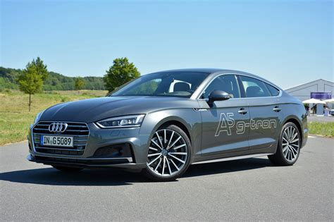 Audi A5 Sportback G Tron First Drive Of Natural Gas