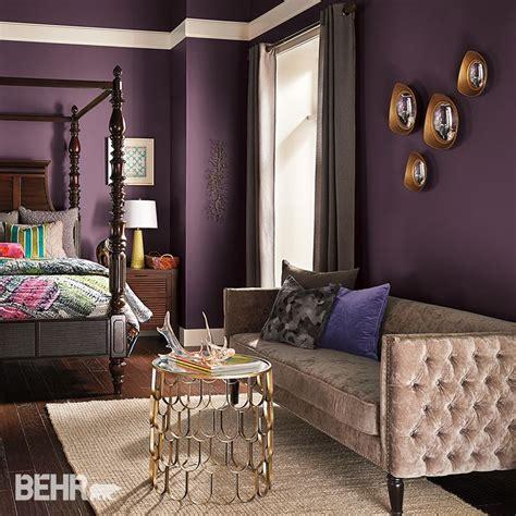 Wand Streichen Ideen Lila by Best 20 Plum Walls Ideas On Purple Bedroom