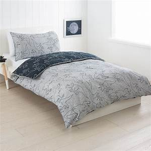 dino reversible quilt cover set single bed kmart With bed covers for single beds