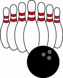 Bowling on clip art bowling pins and bowling ball - Clipartix
