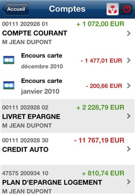plafond compte courant credit agricole credit mutuel application iphone 171 cr 233 dit mutuel 187 banques en ligne mobile