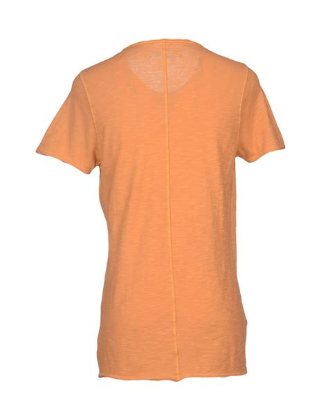 kaos t shirt in orange for lyst