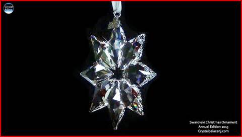 swarovski christmas ornament annual edition 2013