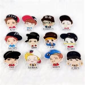singapore blogshop exo badges kpop blogshop