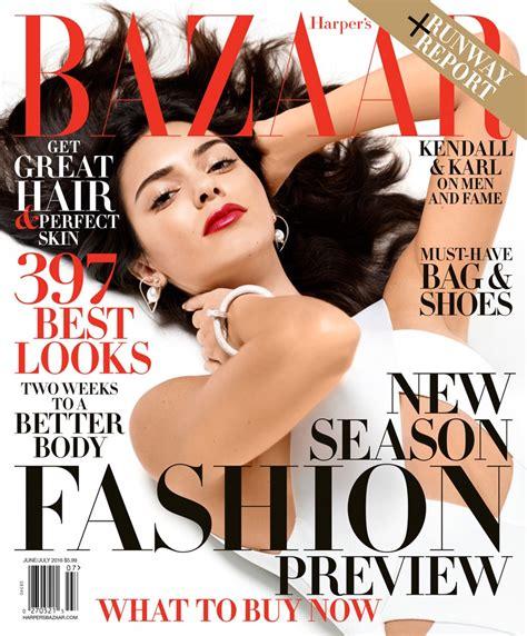 Kendall Jenner Harper's Bazaar June/july 2016 Photoshoot