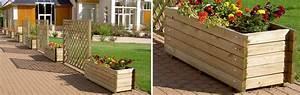 Jardinière Haute Pas Cher : jardinieres bois exterieur pas cher wasuk ~ Premium-room.com Idées de Décoration