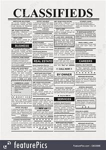 Free Newspaper Ad Template Newspaper Ads Photo