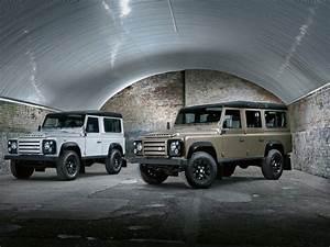Nouveau Land Rover Defender : land rover defender une nouvelle s rie sp ciale ~ Medecine-chirurgie-esthetiques.com Avis de Voitures