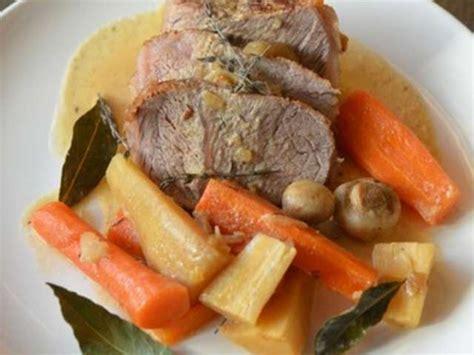 c est au programme recettes cuisine recettes de rôti de veau