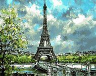 Paris Landscape Painting