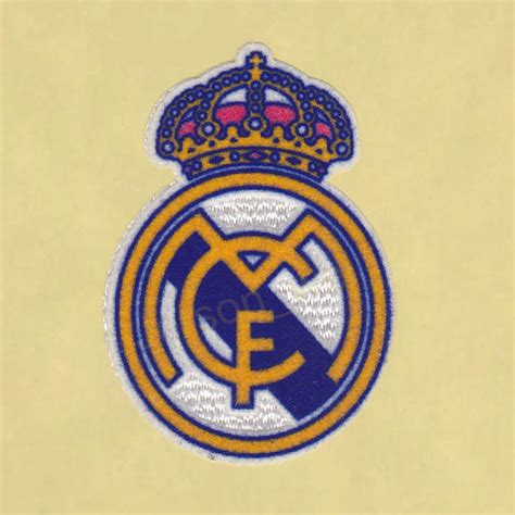 REAL MADRID FC SOCCER PATCH / FLOCK FOOTBALL BADGES ...
