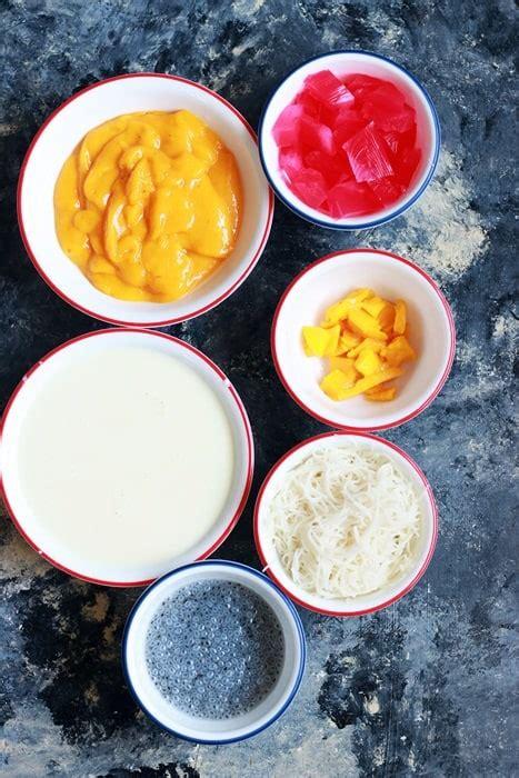 mango falooda recipe cook click  devour