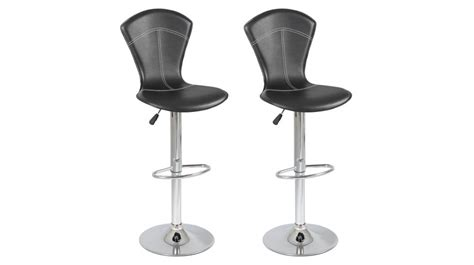 lot de 2 tabourets de bar r 233 glables pas cher tabouret design