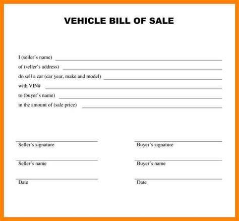 28 basic car sale agreement word doc au o101257