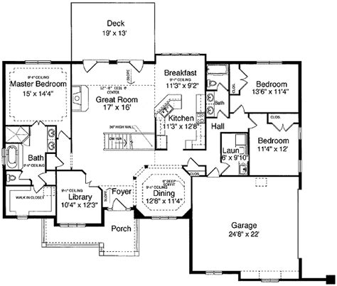 single level home plans exceptional 1 level house plans 10 one level house plans with basement smalltowndjs