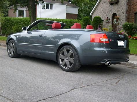 2005 Audi S4 Spec by 2005 Audi S4 Cabriolet Pictures Information And Specs