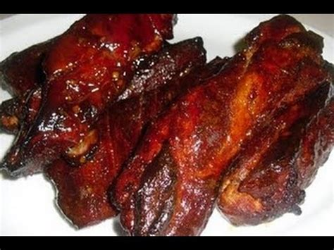 Baked Country Style Barbecue Ribs  I Heart Recipes Youtube