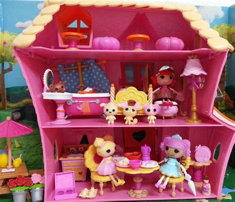Lalaloopsy House - ch 233 rie mini lalaloopsy sew sweet playhouse