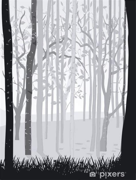 Fototapete Wald Schwarz Weiß by Fototapete Wald Schwarz Wei 223 Pixers 174 Wir Leben Um Zu